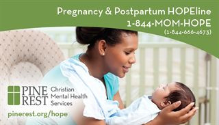 Pregnancy & Postpartum HOPEline | 1-844-MOM-HOPE