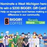 Bryan Holt, StreetReach Team Recognized by Biggby Hero Campaign