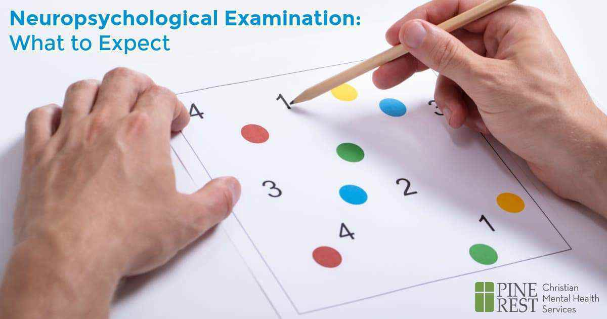 Close-up of hands performing a memory match test on paper with numbers and colored dots