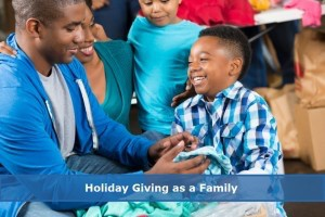 Blog-Holiday giving as a family