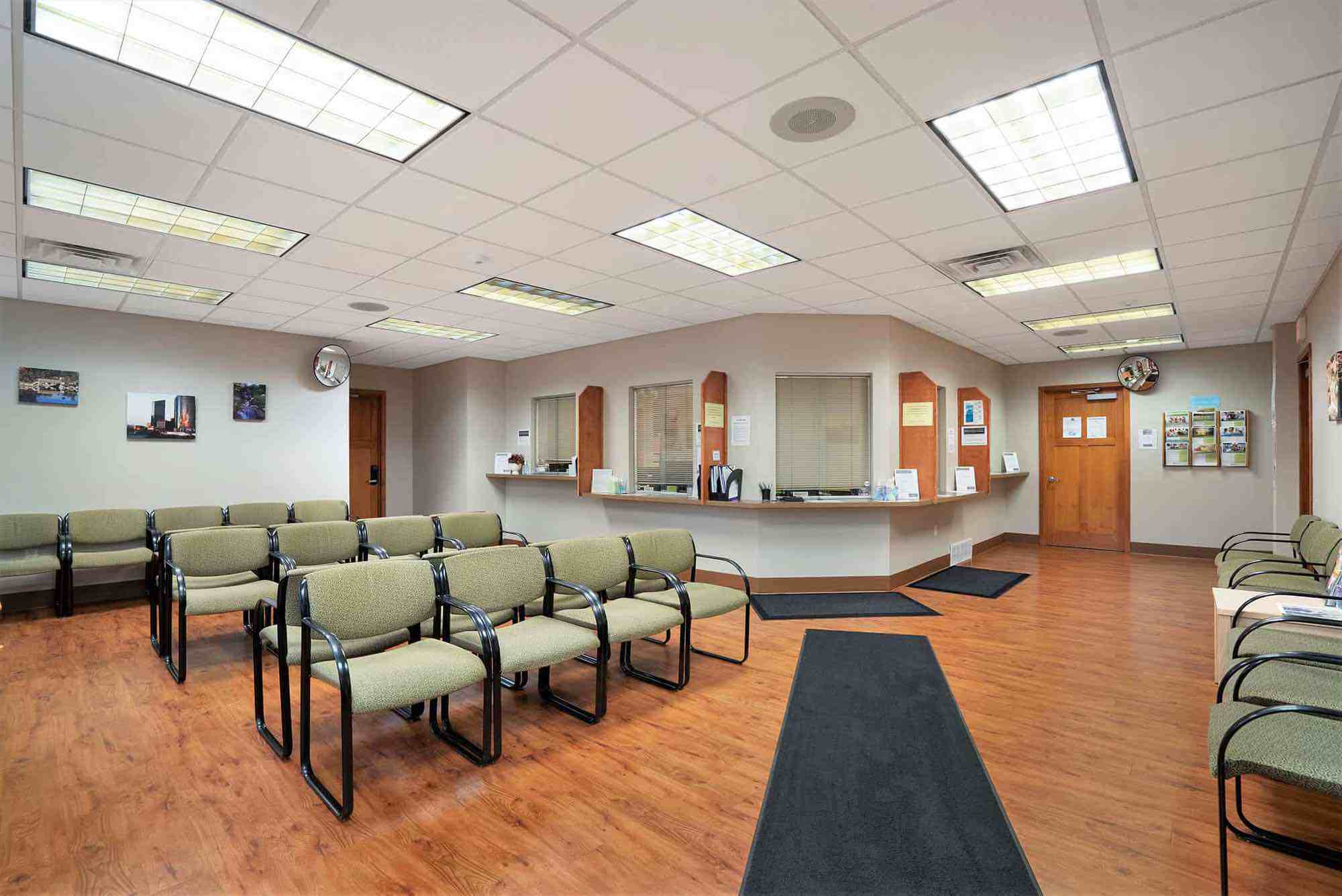 Northwest Clinic lobby