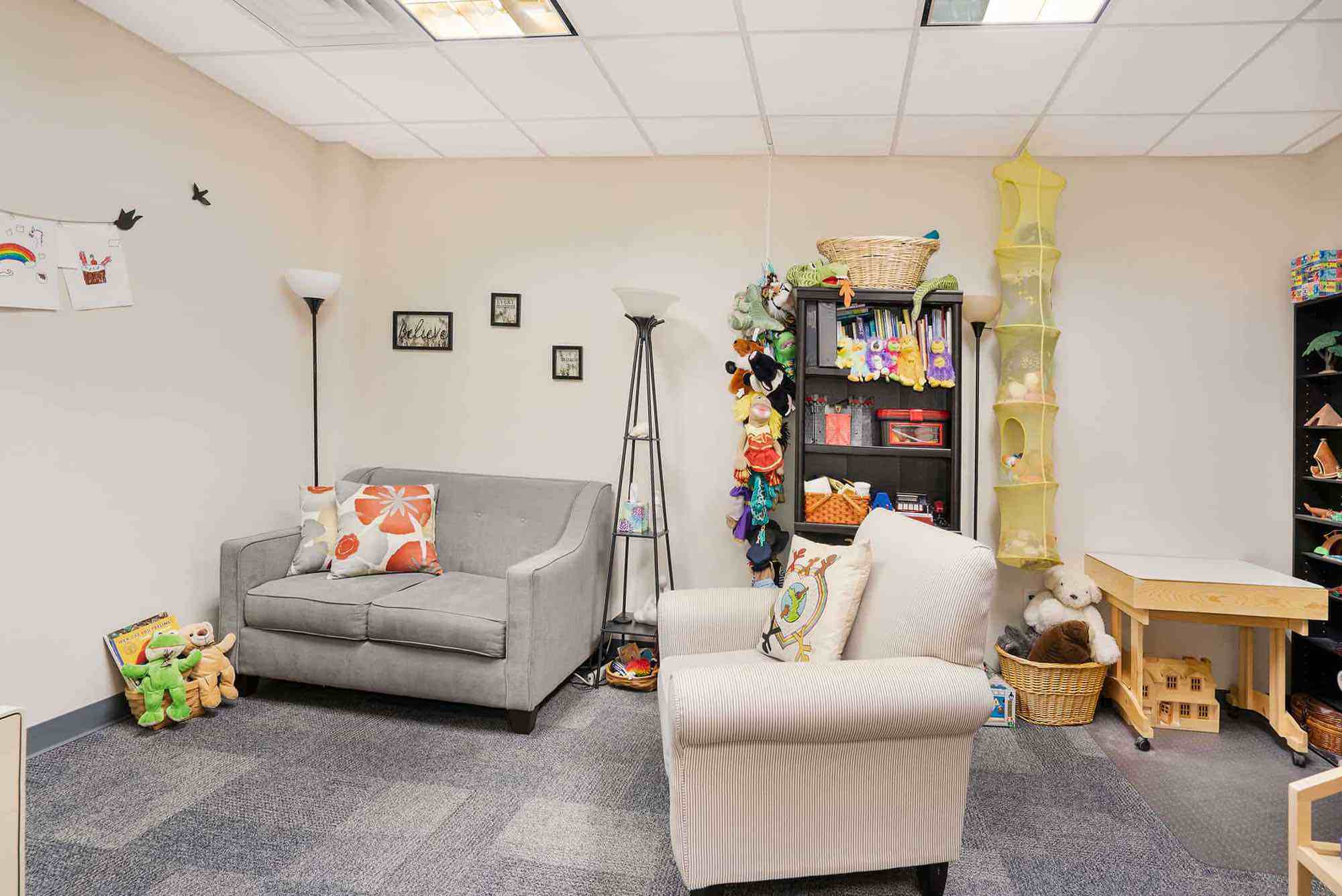 Northwest Clinic child therapy room