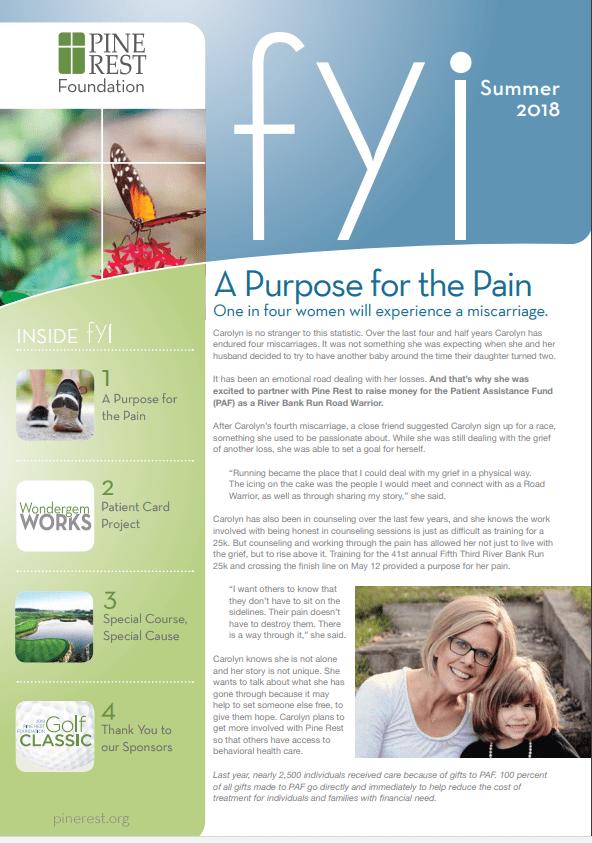 FYI Newsletter Cover - Summer 2018
