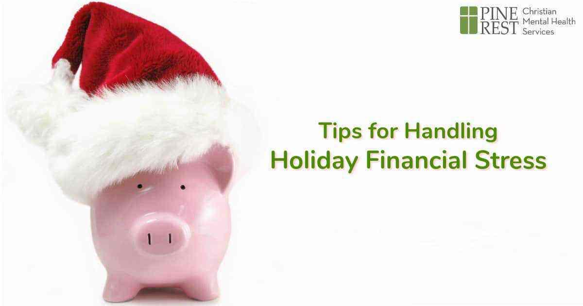 Piggy bank wearing Santa hat