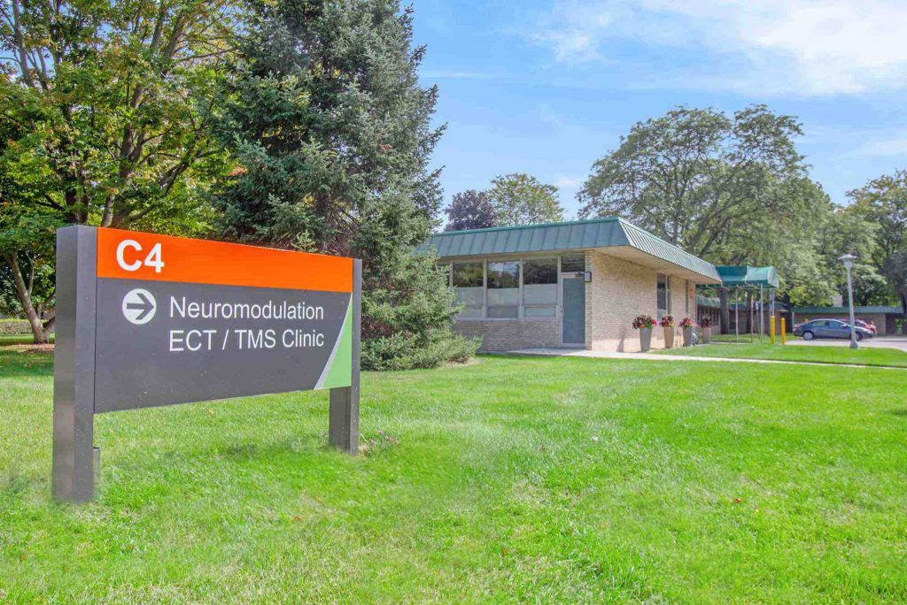 Neuromodulation Clinic Exterior Sign and Building