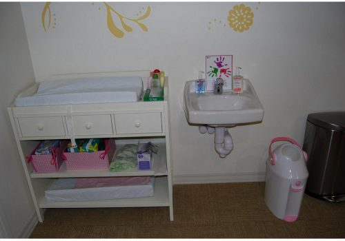 Mother Baby Nursery - Changing area is nicely stocked