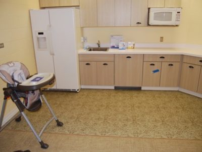 Mother Baby Program Kitchenette