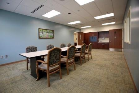 Meeting room in Older Adult unit