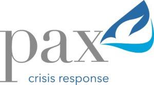 PAX crisis response logo
