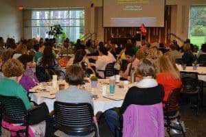 Area clinicians and physician teams attend the Perinatal Mood and Anxiety Disorders conference held at the Pine Rest campus.