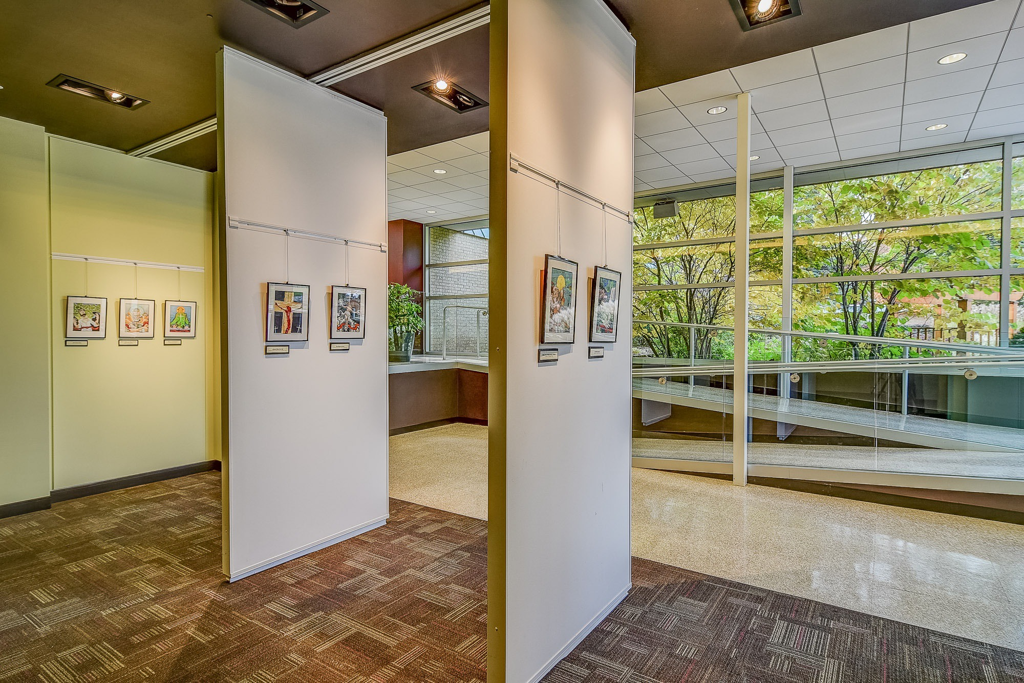 Leep Art Gallery at Postma Center