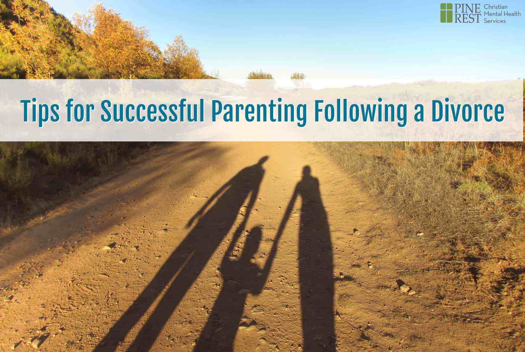 Shadow silhouette of parents holding their child's hands