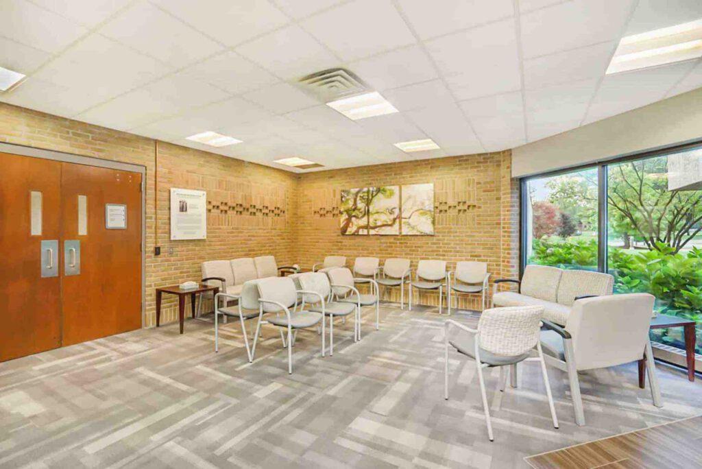 Campus Clinic lobby