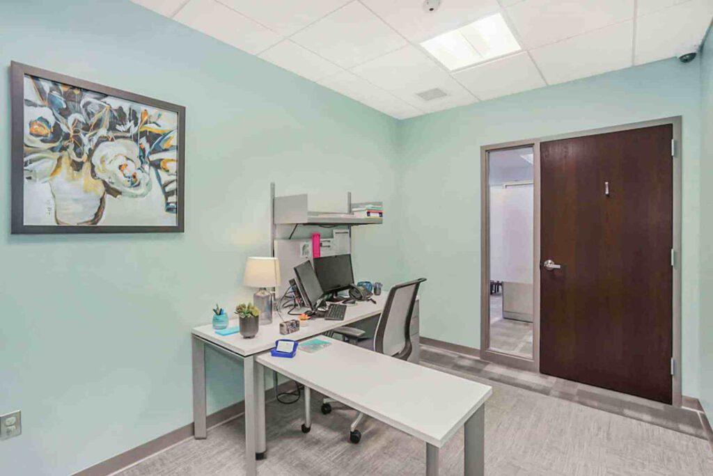 Loeks Residency Center therapy room