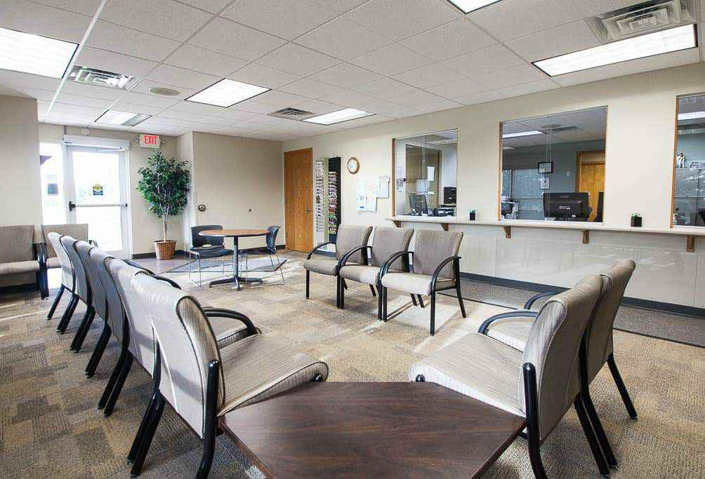 Pella Clinic waiting area