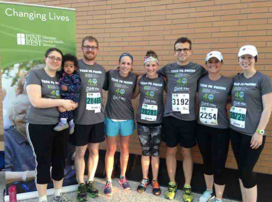 River Bank Run 2017 Team
