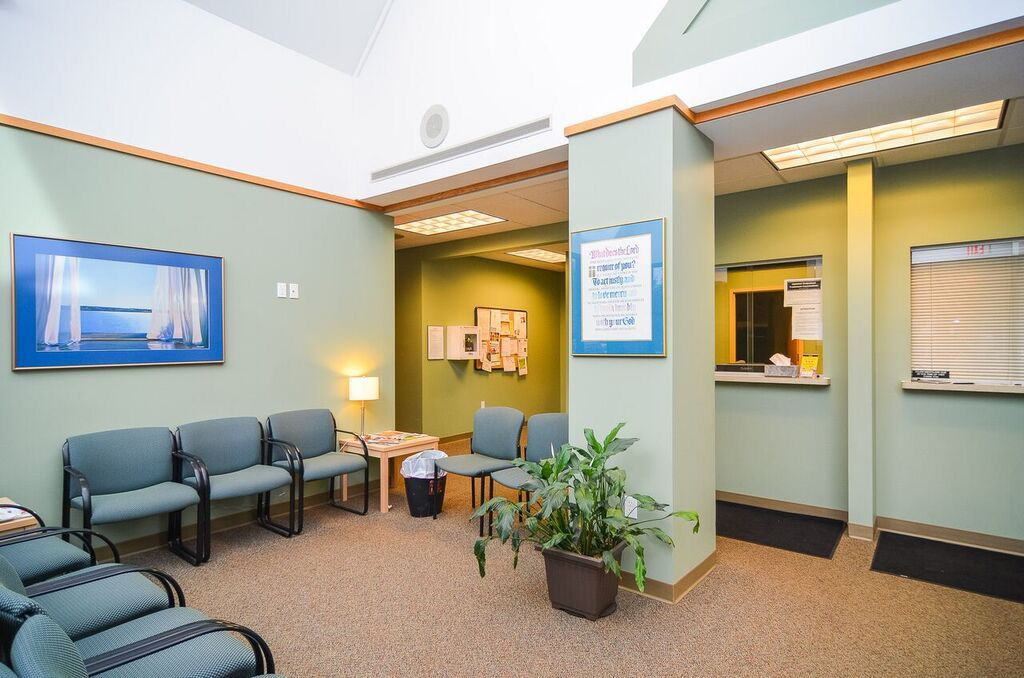 North Shore Clinic waiting area