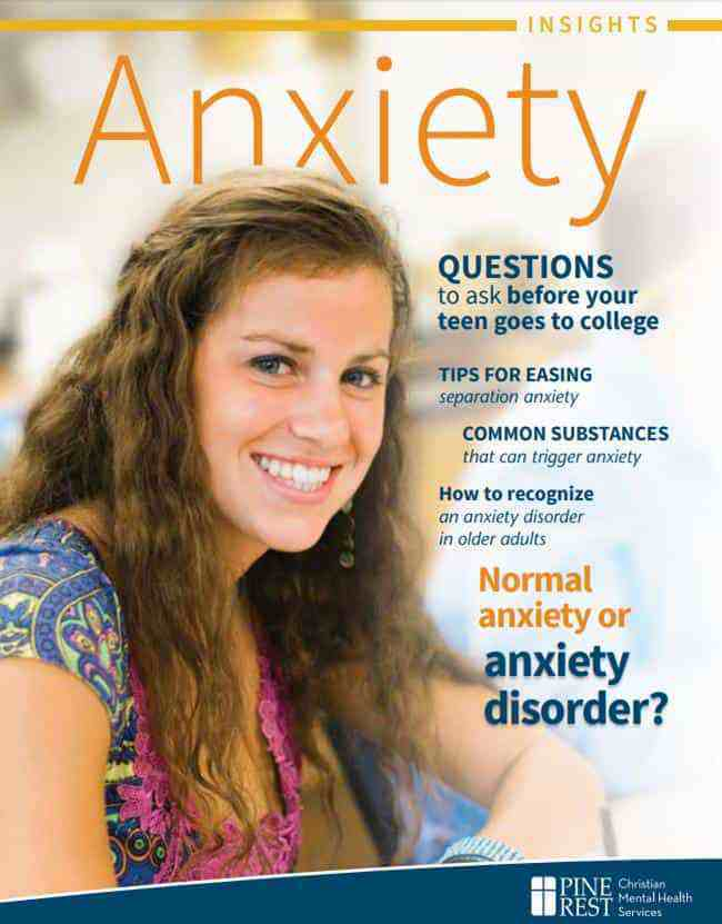 Anxiety Insights magazine cover