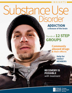 Substance Use Disorder Insights Cover