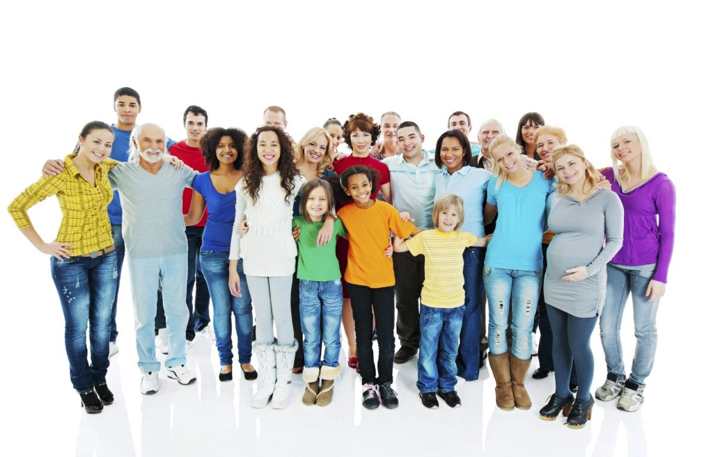 Large group of embraced people standing together. They are isolated on white background. [url=http://www.istockphoto.com/search/lightbox/9786738][img]http://dl.dropbox.com/u/40117171/group.jpg[/img][/url]